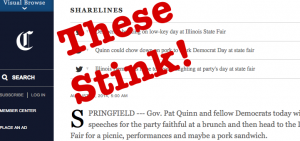 Trib sharelines: these stink